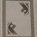 pavoni grigi cm 140 x 195